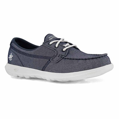 Lds GOwalk Lite navy boat shoe