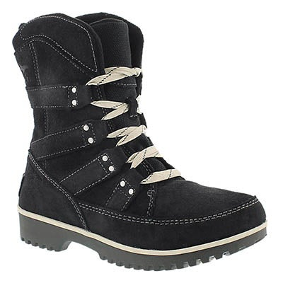 Lds Meadow Lace black wtpf boot