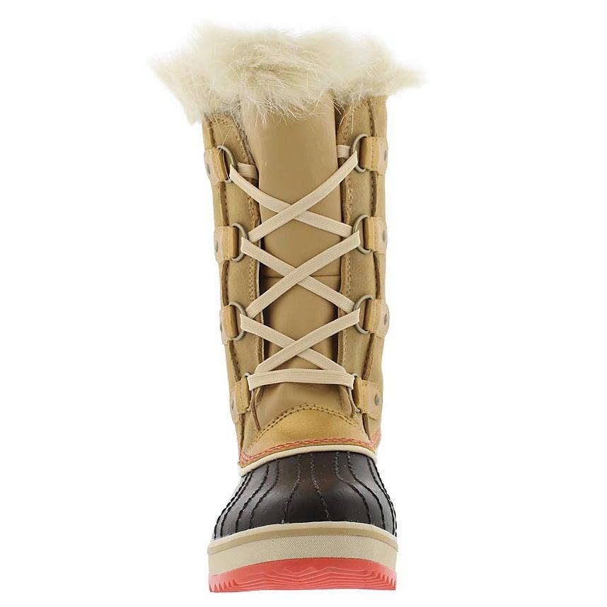 Grls Tofino curry wtprf winter boot