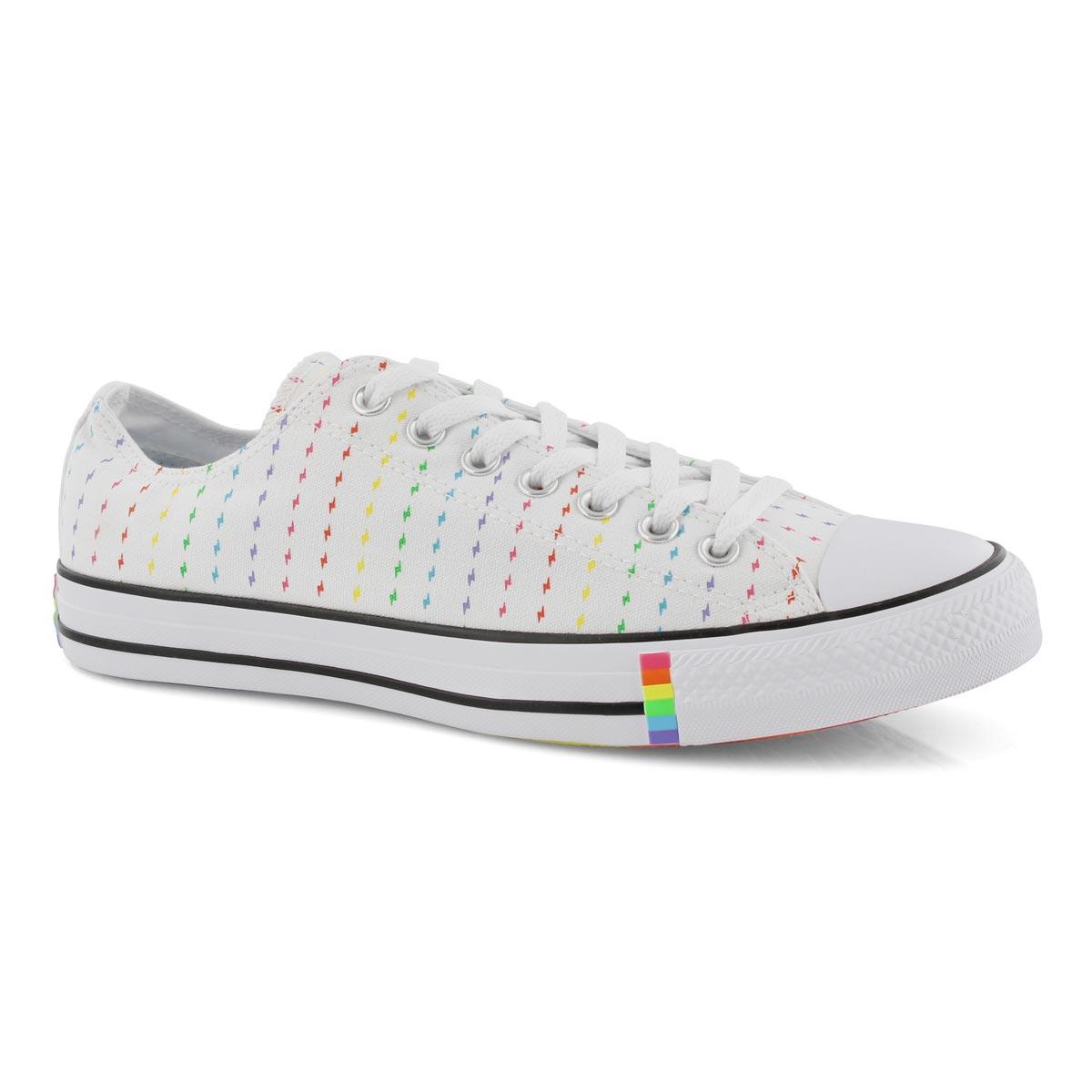 Mns CTAS Rainbow Pride Ox wht/mlt snkr