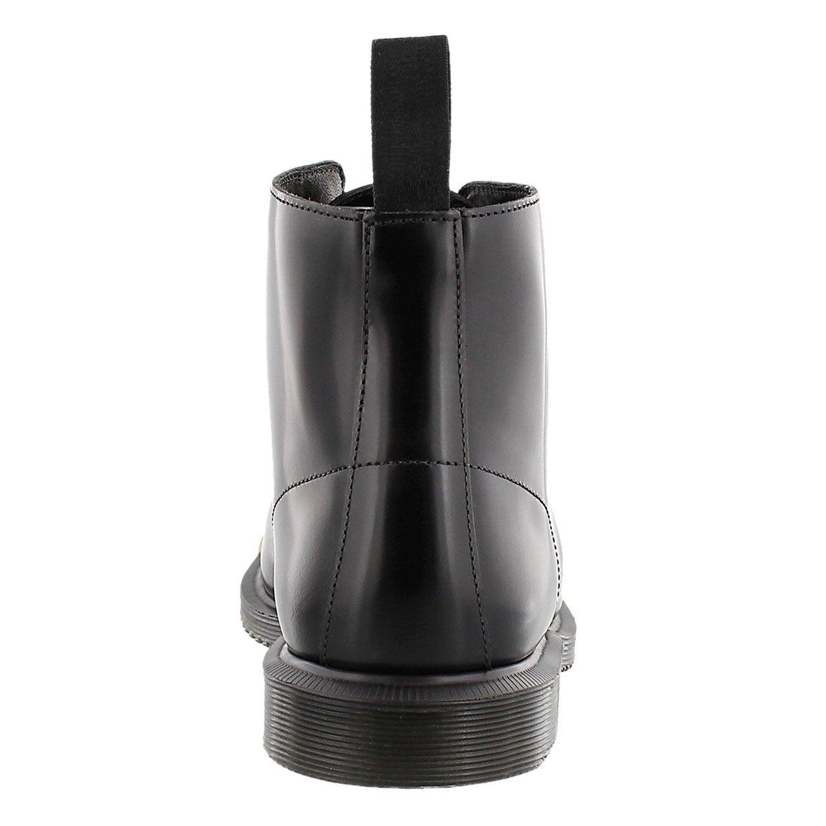 Lds Kensington Emmeline 5-Eye blk boot