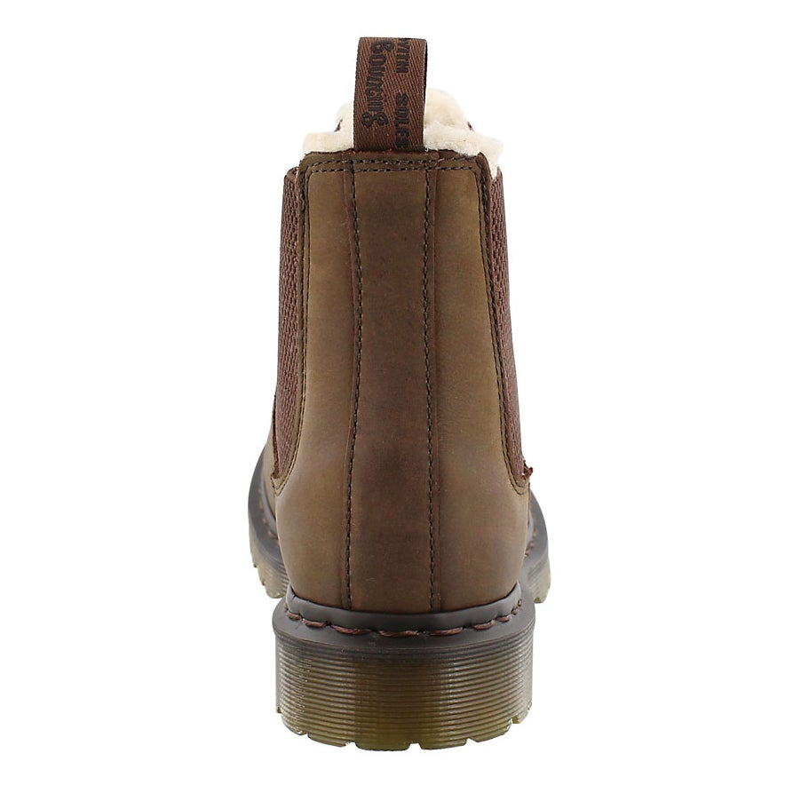 Lds Leonore dk brn pull on chelsea boot