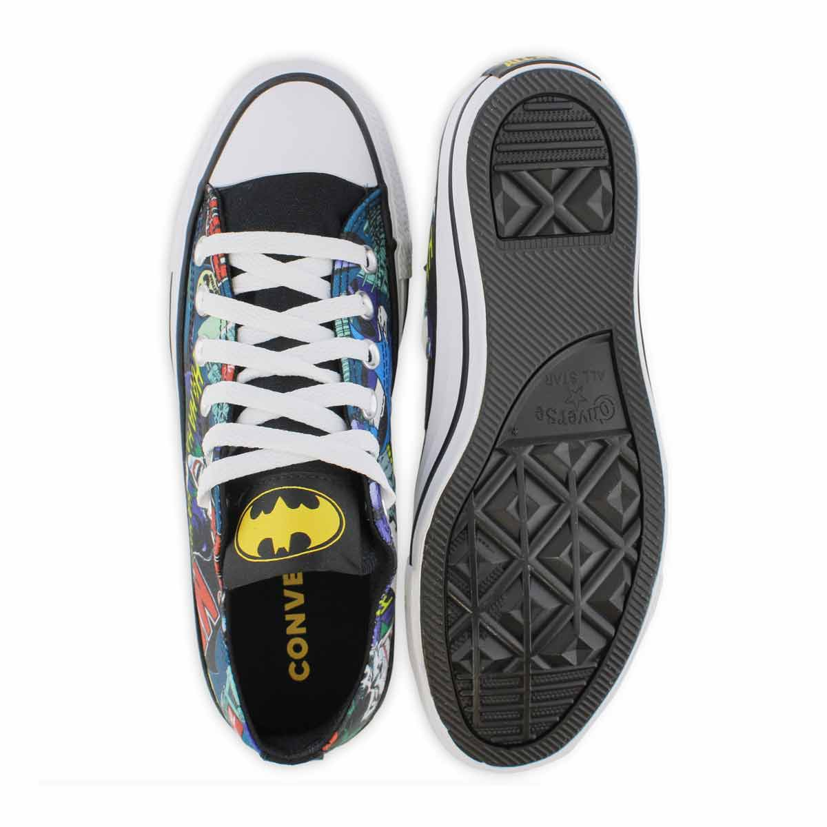 Lds Batman multi/wht oxford sneaker