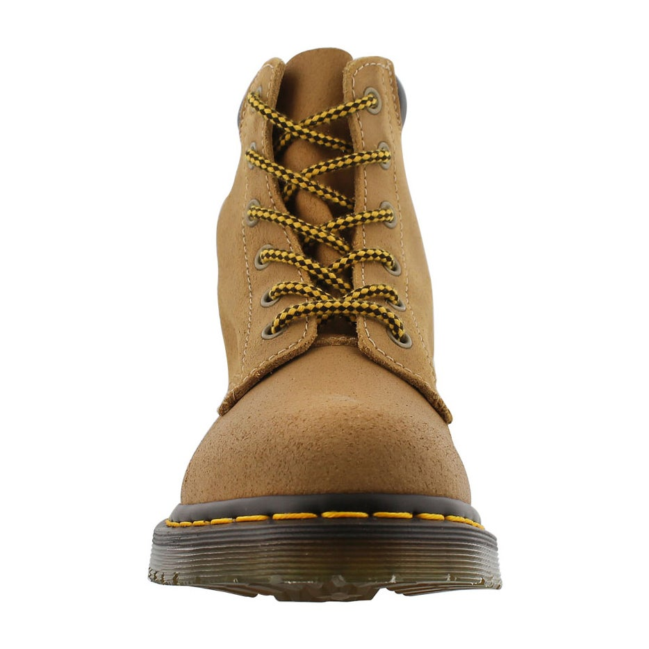 Lds Core 939 6-Eye tan greasy hiker boot