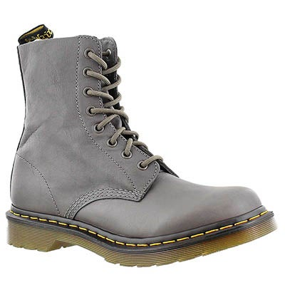 Dr Martens Women's PASCAL 8-Eye lead soft leather boots