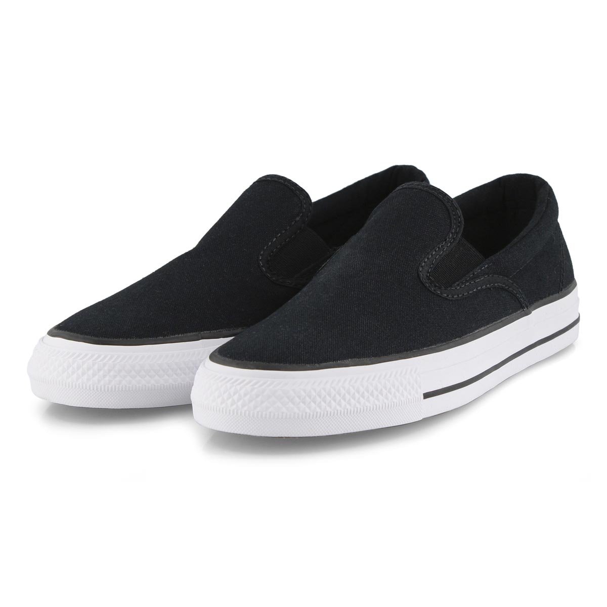 Lds CTAS Double Gore black slip on snkr