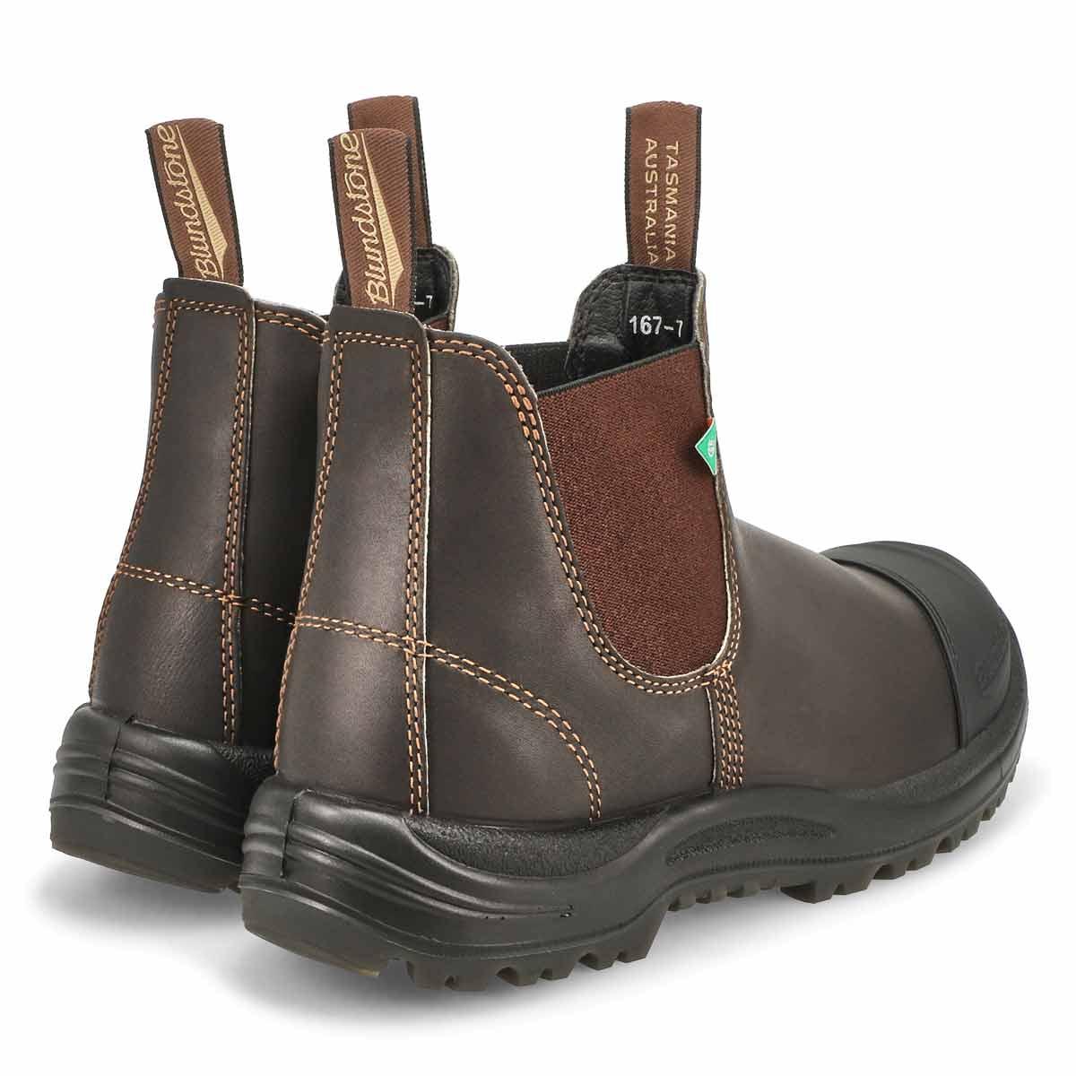 Unisex CSA stout brn twin gore boot