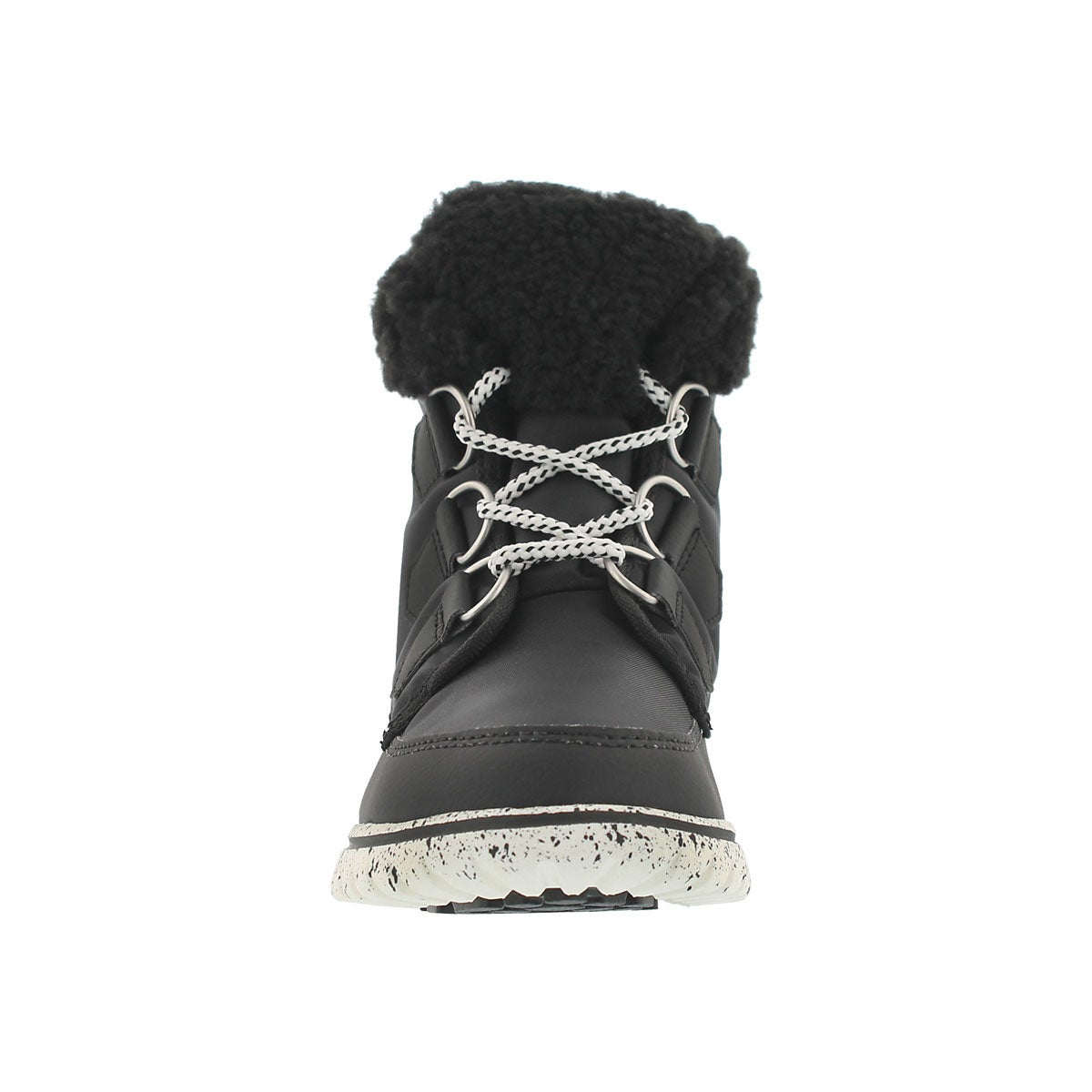 Lds Cozy Carnival black low snow boot