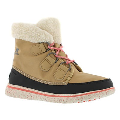 Sorel Women's COZY CARNIVAL curry low snow boots