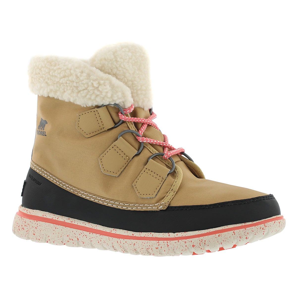 Lds Cozy Carnival curry low snow boot