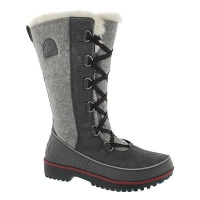 Sorel Women's TIVOLI HIGH II dark grey winter boots