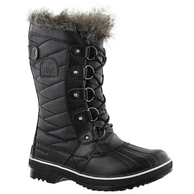 Sorel Women's TOFINO II black waterproof boots