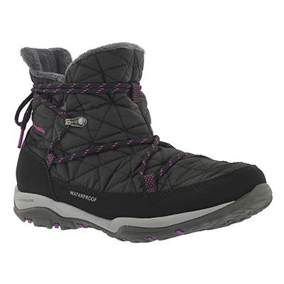 Columbia Women's LOVELAND SHORTY OmniHeat black boots
