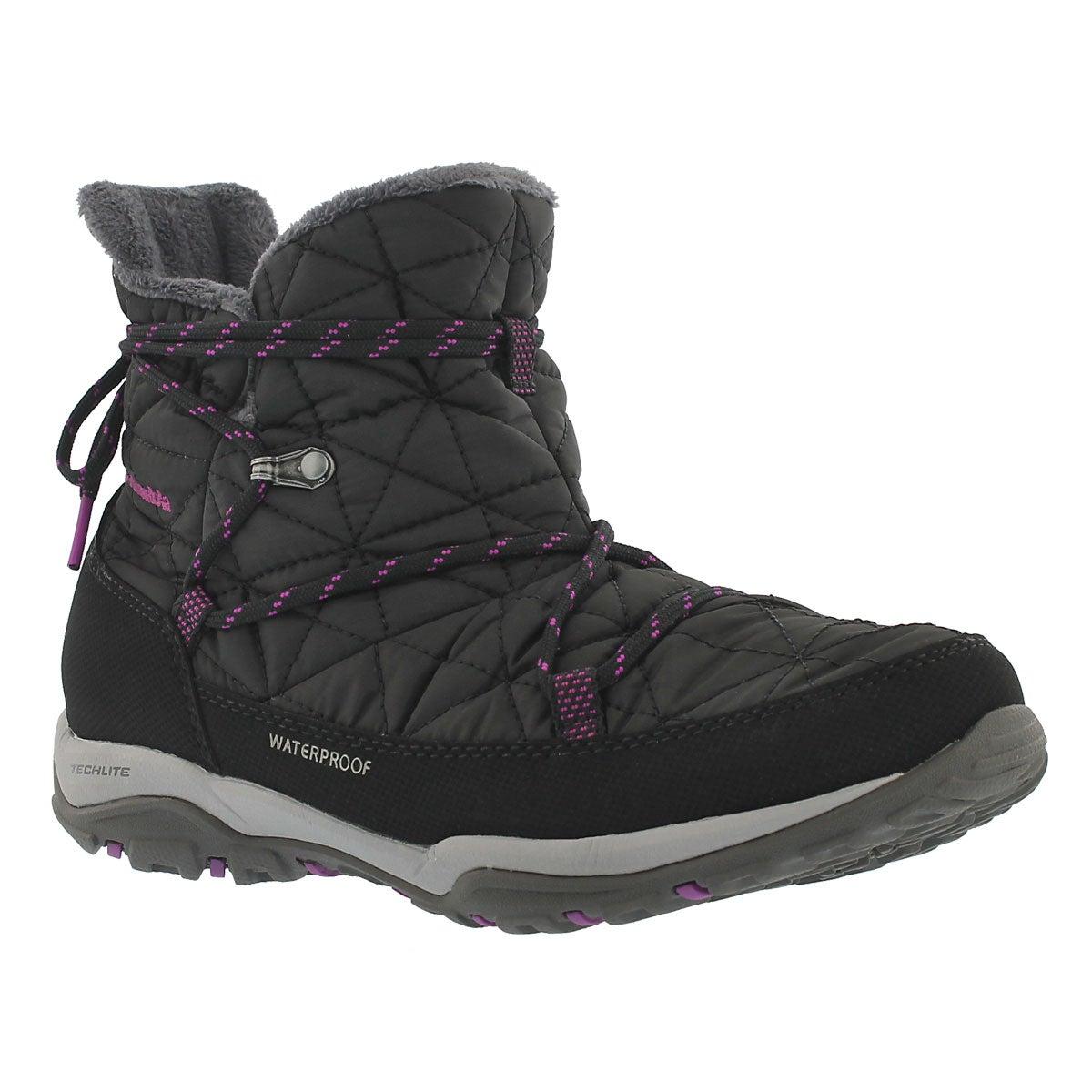 Women's LOVELAND SHORTY OmniHeat black boots