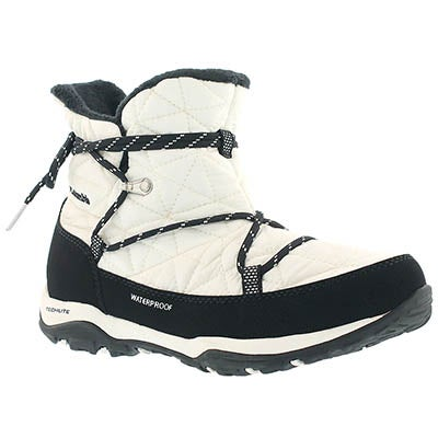 Columbia Women's LOVELAND SHORTY OmniHeat white boots