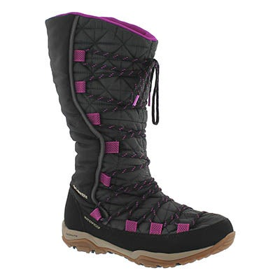 Columbia Women's LOVELAND Omni-Heat shark/plum boots