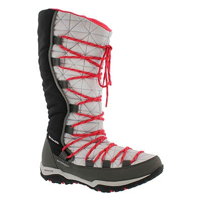 Columbia Women's LOVELAND Omni-Heat grey/red boots