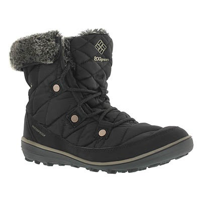 Lds Heavenly Shorty OmniHeat black boot