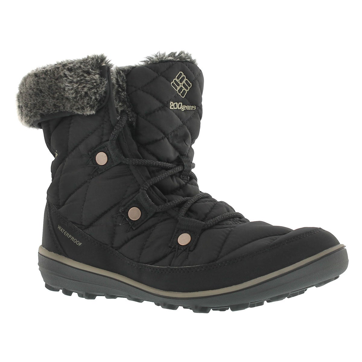 Lds Heavenly Shorty OmniHeat black boot