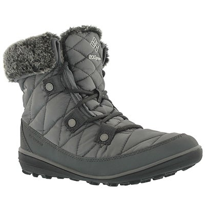Columbia Women's HEAVENLY SHORTY OmniHeat quarry boots
