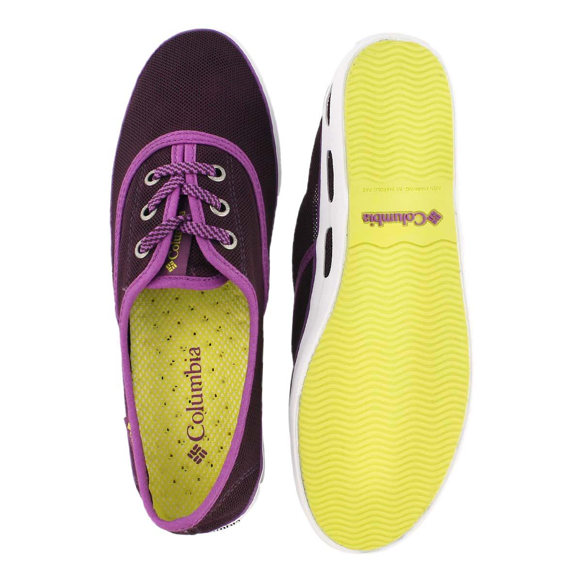 Lds Vulc N Vent Lace Mesh purple sneaker