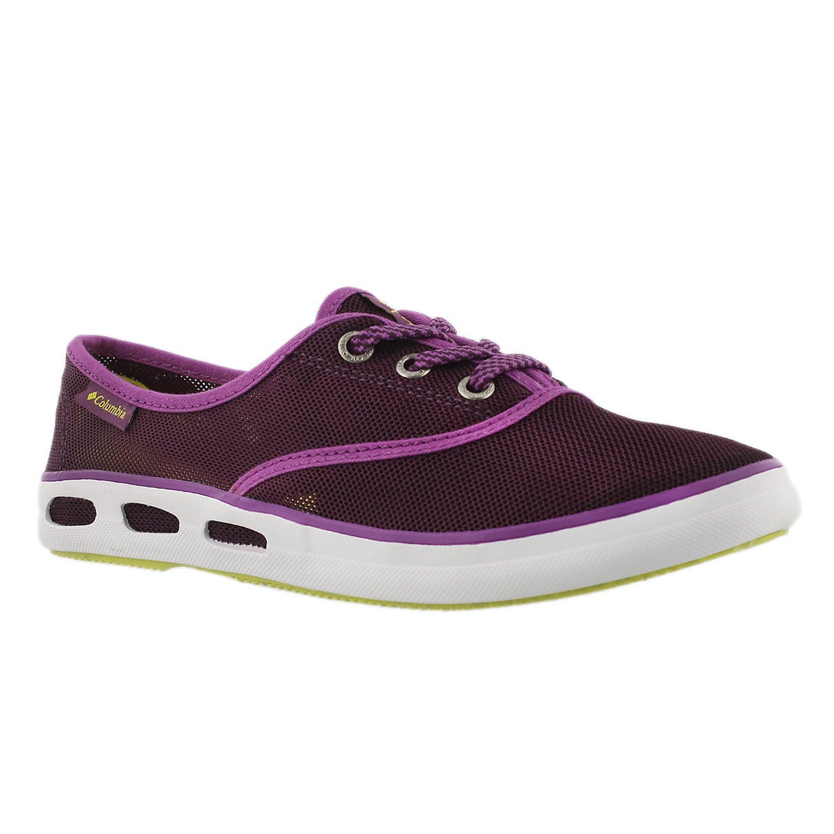 Women's VULC N VENT LACE MESH purple sneakers