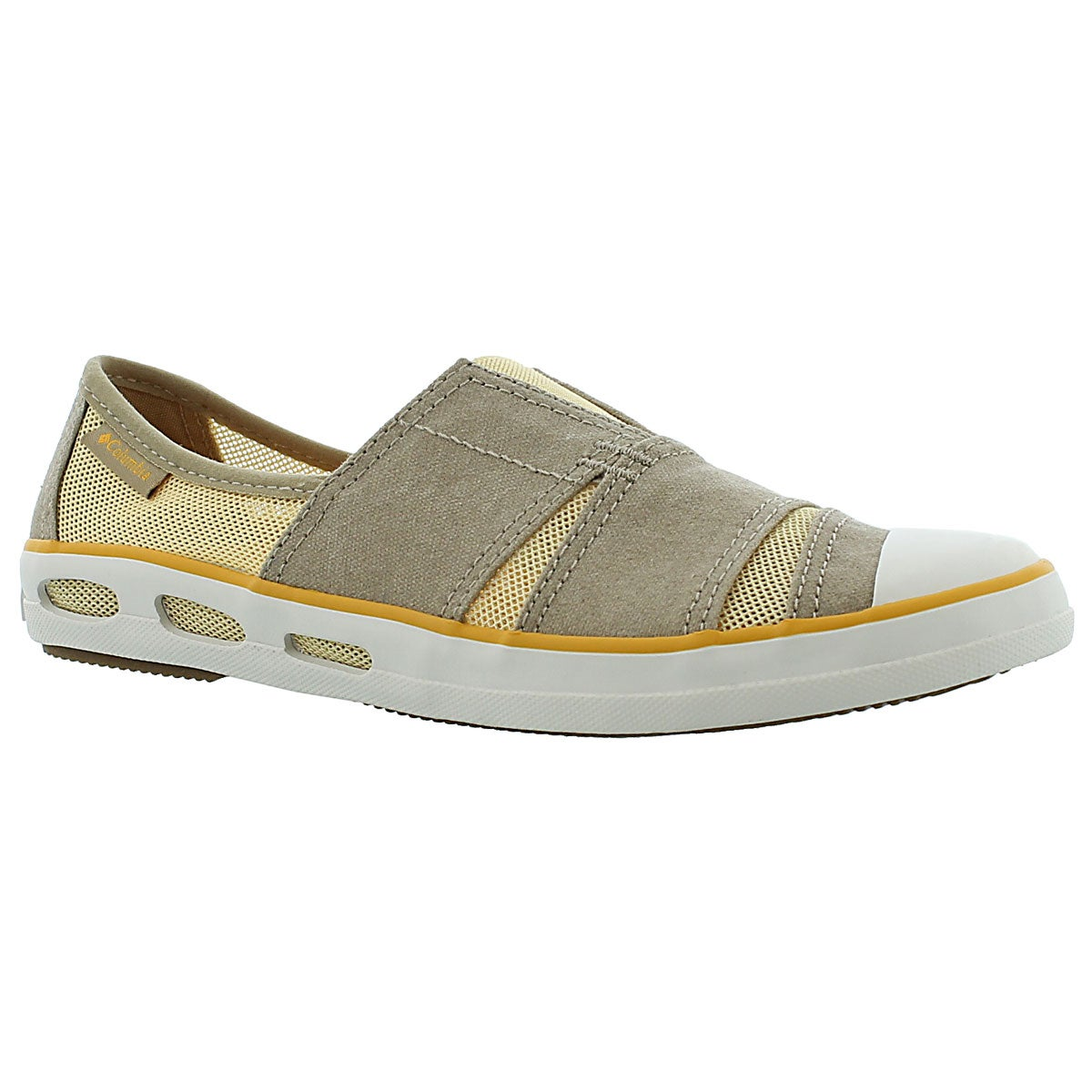 Lds Vulc N Vent Slip tan slip on