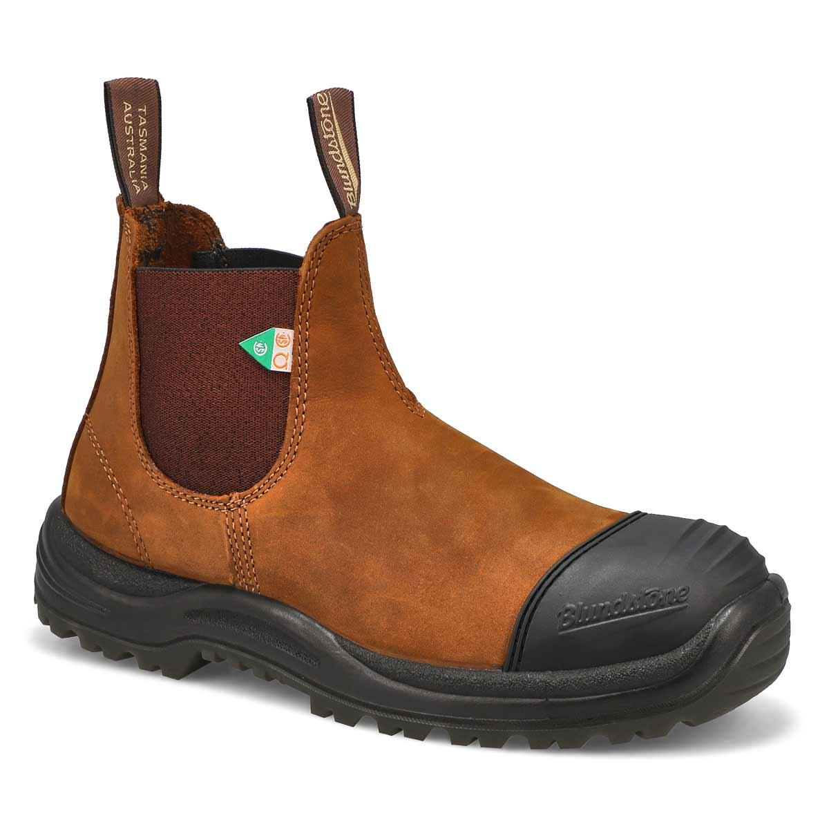 Unisex CSA crazyhorse brn twin gore boot