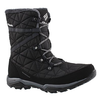 Columbia Women's LOVELAND MID OmniHeat black boots