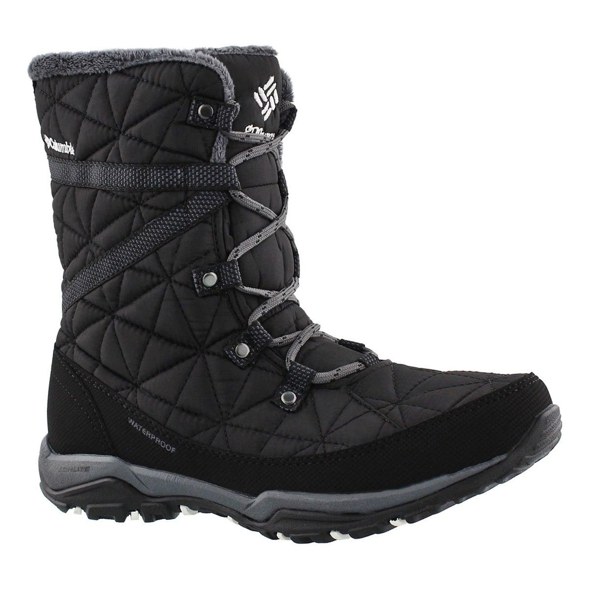 Women's LOVELAND MID OmniHeat black boots