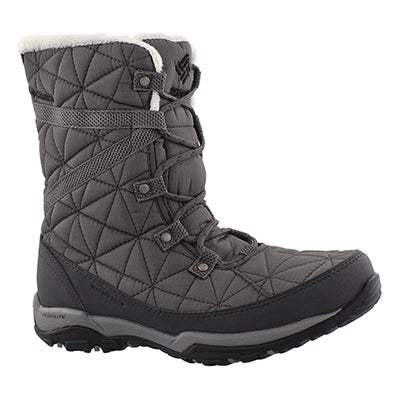 Columbia Women's LOVELAND MID OmniHeat grey boots