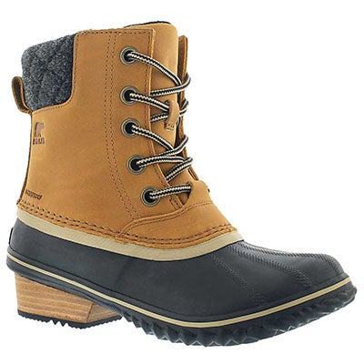 Sorel Women's SLIMPACK II LACE elk waterproof boots