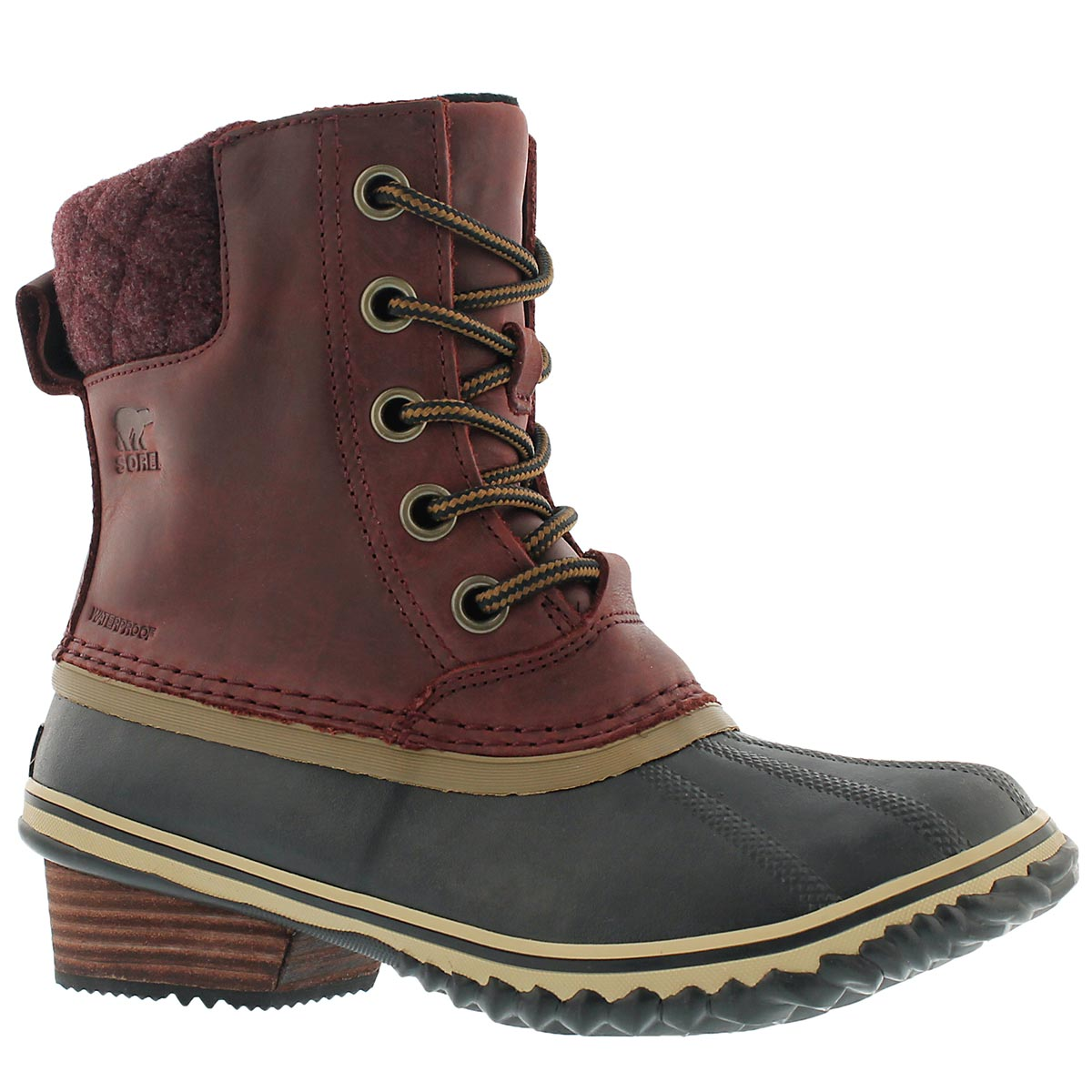 Lds Slimpack II Lace redwood wtpf boot