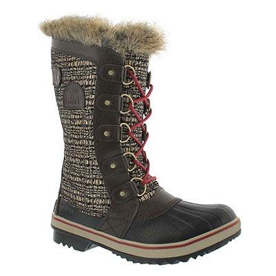 Sorel Women's TOFINO II cordovan waterproof boots