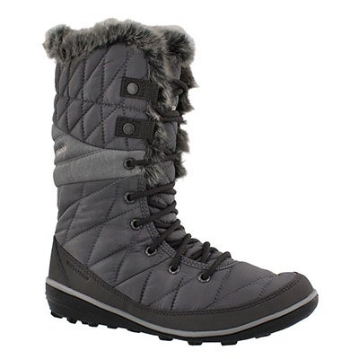 Columbia Women's HEAVENLY OmniHeat quarry snow boots
