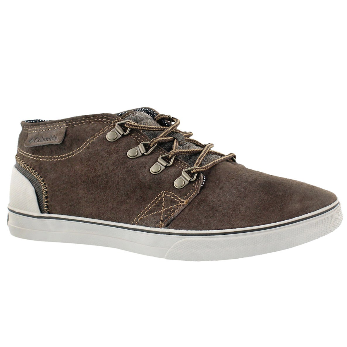 Men's VULC HALF DOME brown casual shoes