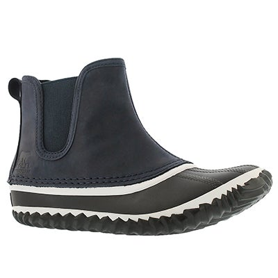 Sorel Women's OUT'N ABOUT navy duckie boots