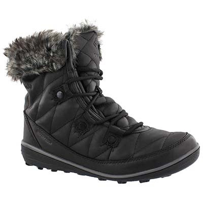 Lds Heavenly Shorty OmniHeat blk boot