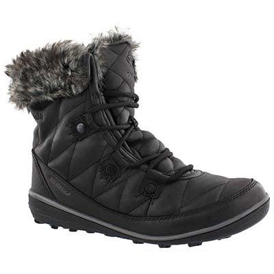 Lds Heavenly Shorty OmniHeat blk boot