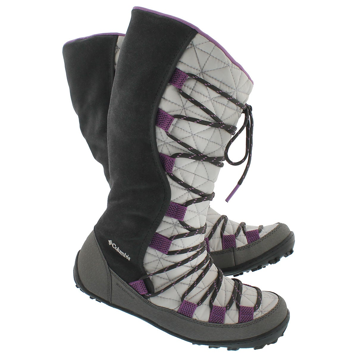 Botte LOVELANDOmni-Heat, gris/violet,fil