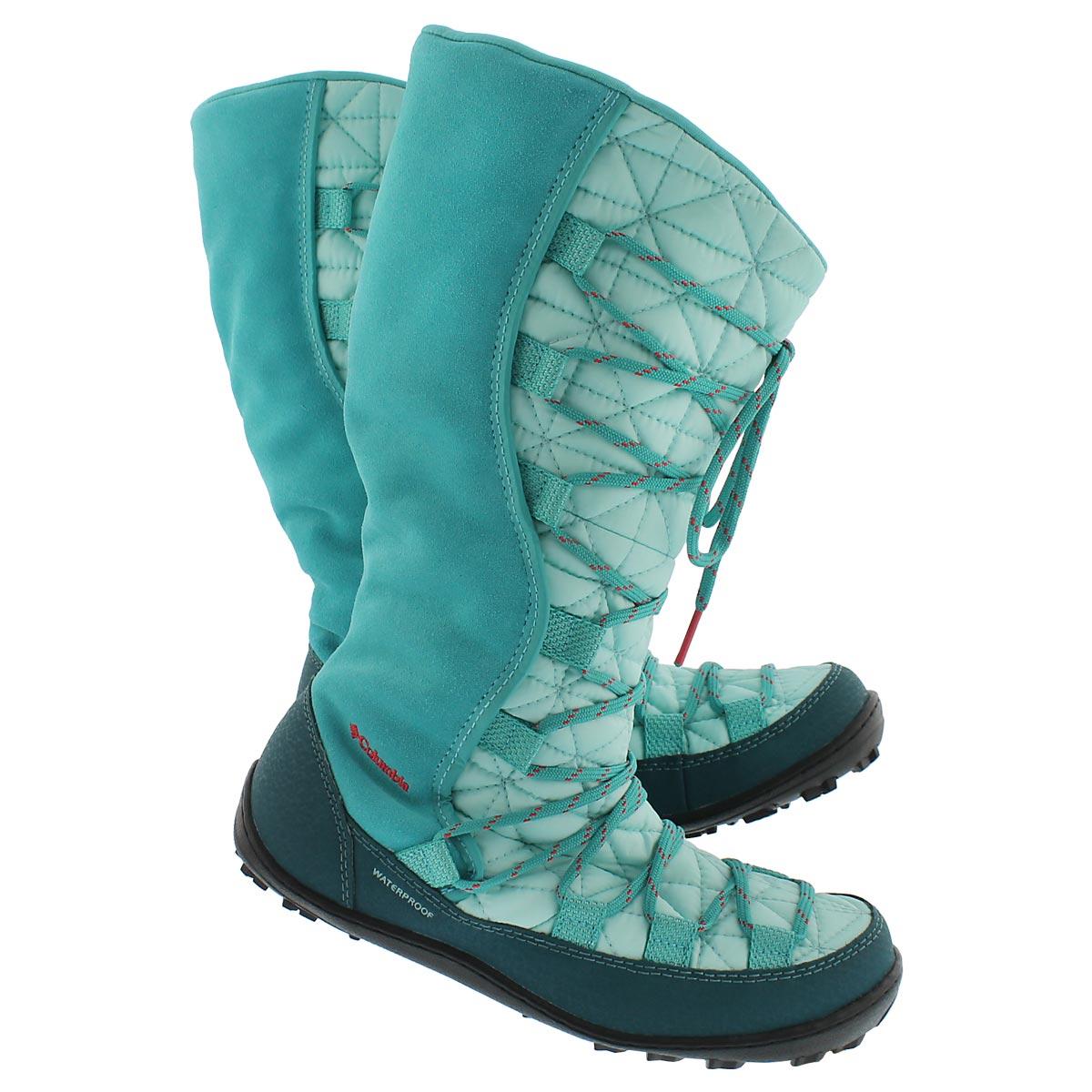 Grls Loveland Omni-Heat turq. tall boot