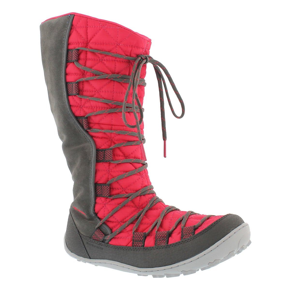 Girls' LOVELAND Omni-Heat pink/grey boots