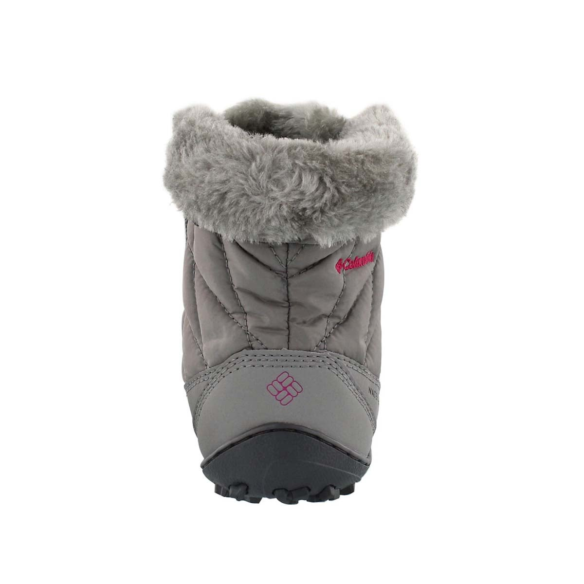 Grls Minx Shorty grey winter boot