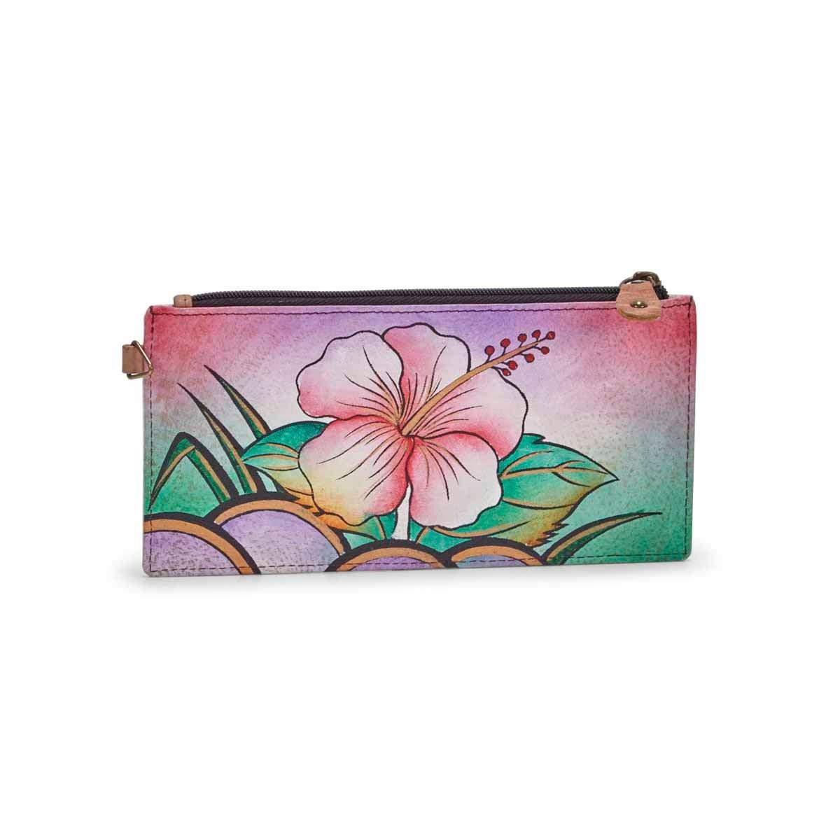 Women's HAWAIIAN HIBISCUS wallet
