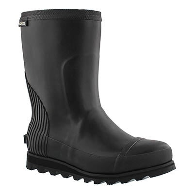 Lds Joan black short rainboot