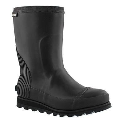Lds Joan black short rainboot