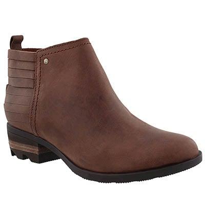 Lds Lolla rustic brown/redwood bootie