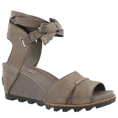 Lds Joanie Wrap sahara wedge sandal