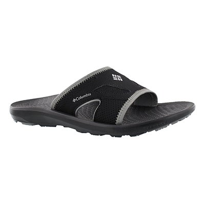 Mns Techsun Slide black casual sandal