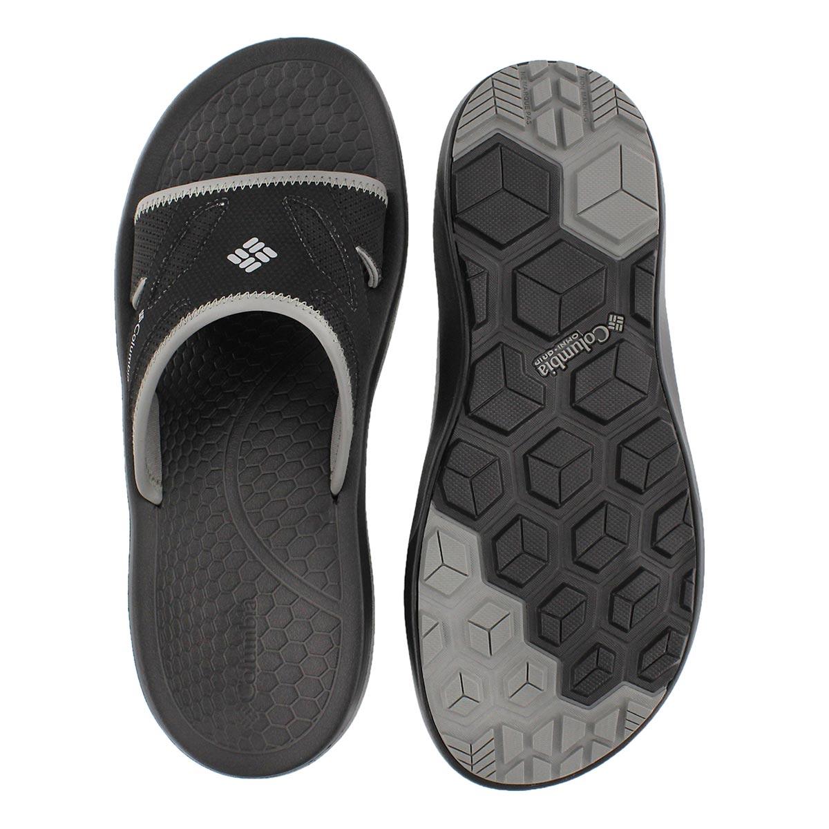 Mns Techsun Slide black casual sandal